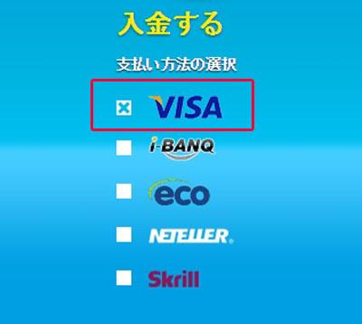 ベラジョン_入金画面2